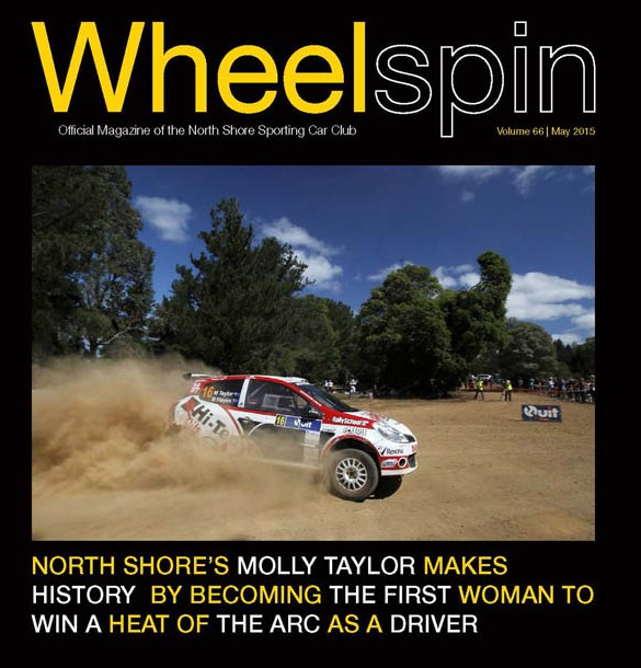 Front cover Wheelspin_May_2015