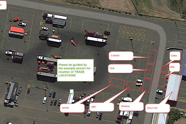 Partner trade pit layout