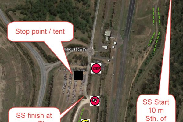 control locations sydney dragway STAGE ONE