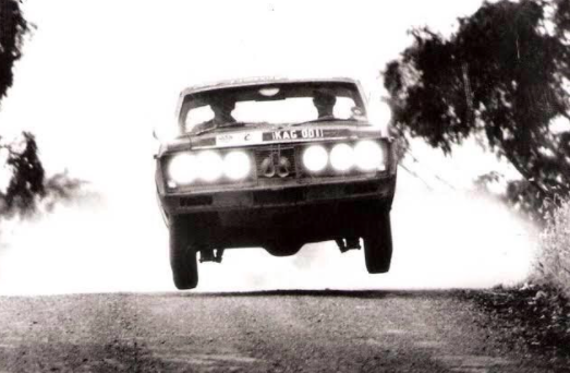 Ford Falcon GT driven by Harry Firth to 8th place