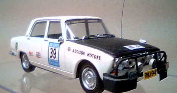 Alfa Romeo 1750 driven by Stewart McLeod but retired in Afghanistan